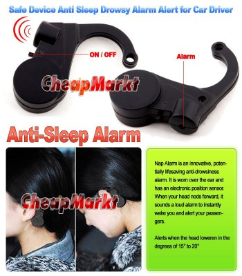 Safe Device Anti Sleep Drowsy Alarm Alert for Car Driver